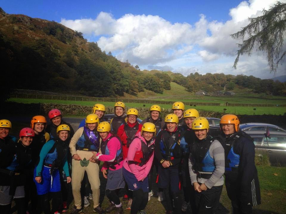 Hen do Gorge Walking in the Lake District