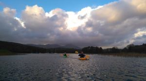 Kayaking in the Lake District