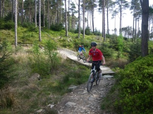 Trail cycling in the Lake District